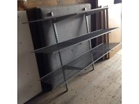 3 shelf rack 175 x 40cm. Delivery