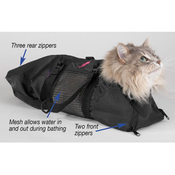 Our High Quality Cat Grooming Bag Is The Perfect Tool For Bathing And Cats