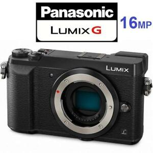 NEW PANASONIC LUMIX GX85 CAMERA DMC-GX85 137813207 BODY ONLY 4K MIRRORLESS DIGITAL PHOTOGRAPHY 16MP