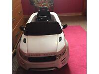 Range Rover electric car