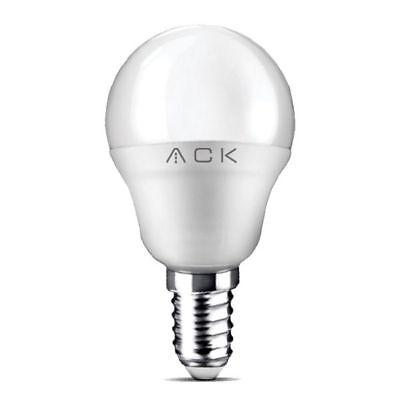 LED E14 Leuchtmittel Kugel P45 5 Watt 400 Lumen A+ 3000 Kelvin Ø 4,5 cm 45 Lumen-led