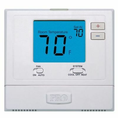 Digital Wall Electronic Non Programmable Thermostat Pro1 Iaq T701 Heat Cool