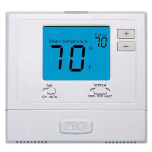 Digital Wall Electronic Thermostat Pro1IAQ T701 Non-Programmable Heat / Cool