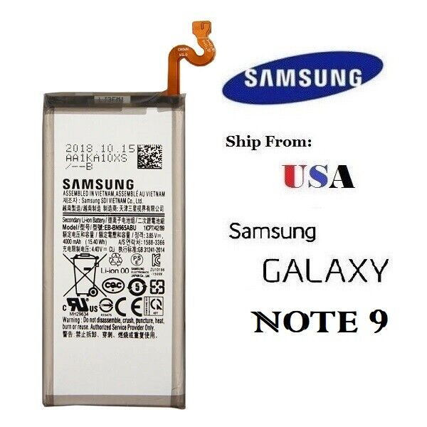 Replacement Battery for Samsung Galaxy Note 9 N960 4000mAh U