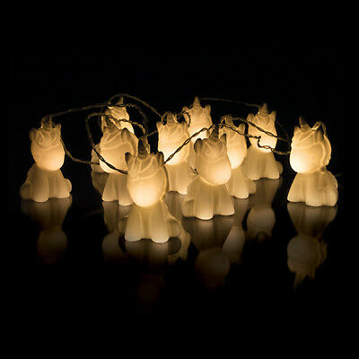 10 Soft Glowing Magical Unicorn String Lights Set Battery Operated Uni-Cute!](Cute String Lights)