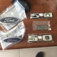 Ford emblems set! Factory quality