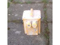 2 Portable 110 transformers