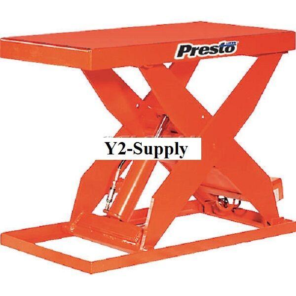 New! Hd Scissor Lift Table Xl36-40h 48x24 Hand Operated 4000 Lb!!