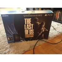 PS4 (Un-opened Last of Us Edition) *Second Son Included*