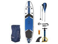 """STX 11""""6 inflatable SUP Paddle board excellent condition"""