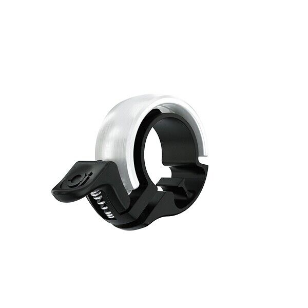 Knog Oi Classic Small Bicycle Bell - Silver