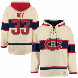 Patrick Roy Heavyweight Jersey Lacer Hoodie at JJ Sports!