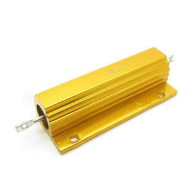 1pcs High Power 1000 Ohm 1k 100w Watt Aluminum Shell Case Wirewound Resistor 5