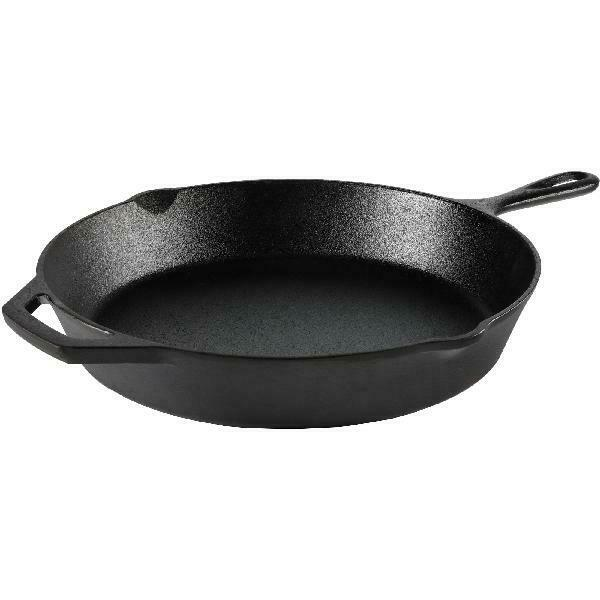 Cast Iron Skillet 12 Inch Frying Pan Oven Cooking Pre Season