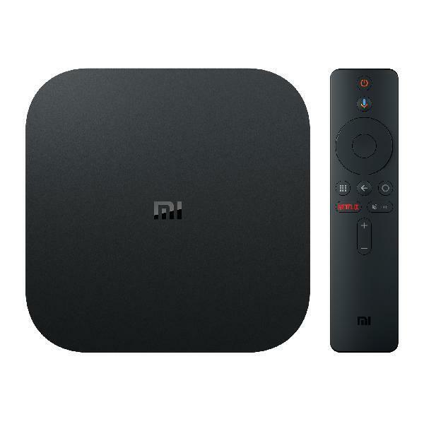Xiaomi Mi Box S 4K HDR Android TV with Google Assistant Remo