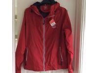Southampton fc rain jacket with hood xl brand new