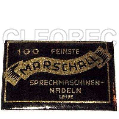 100 Grammophon Nadeln ''Leise'' Stahlnadeln - NEU - New steel needles soft tone