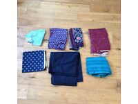 Job lot of material quilting quality