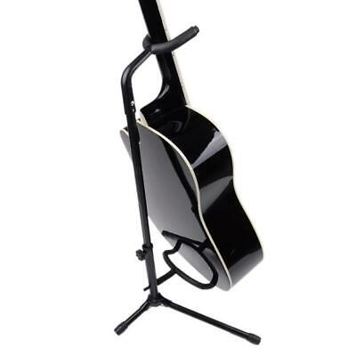 On Stage Folding Guitar Stands Tubular Acoustic/Electric Bass Guitar Stand
