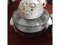 Halogen worktop cooker