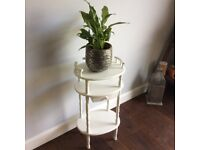 Vintage shabby chic up-cycle telephone table side table