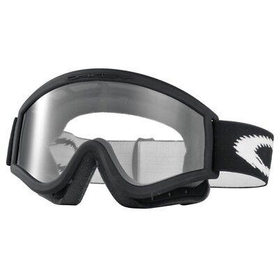Oakley L-Frame OTG (Over Glasses) MX Goggles - Matte Black (Oakley Goggles Over Glasses)