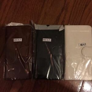 Selling iPhone 6 and 6 Plus Leather Detachable Wallet Cases
