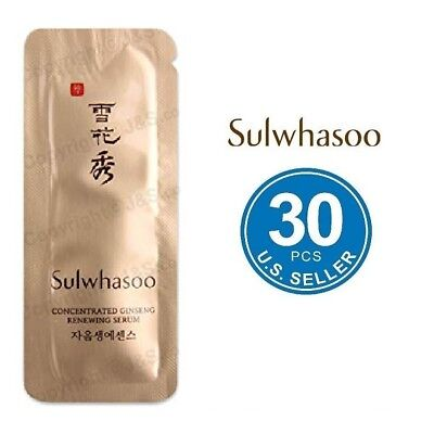 Sulwhasoo Concentrated Ginseng Renewing Serum 1ml x 30pcs (30ml) New Version