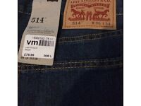 Levi's jeans 514 brand new