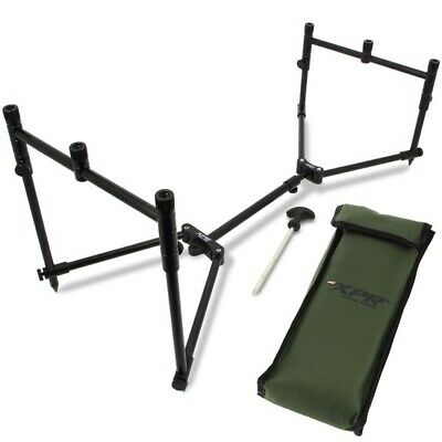 NGT Carp Coarse Lightweight Fully Adjustable Compact XPR 3 Rod Pod with Case