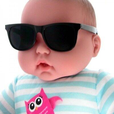 Baby Wayfarers (Super Cool Baby Kids Children Boys Girls Black Wayfare Sunglasses Age 1 to)