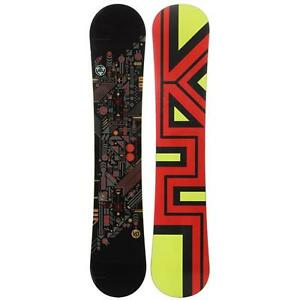 Brand new mens snowboards by  Sims and K2