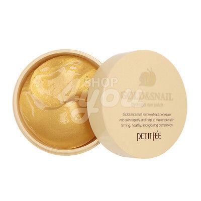 Petitfee Gold & Snail Hydrogel Eye Patch 60 Sheet +Free Sample