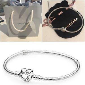 Pandora Bracelet - love heart lock Butler Wanneroo Area Preview