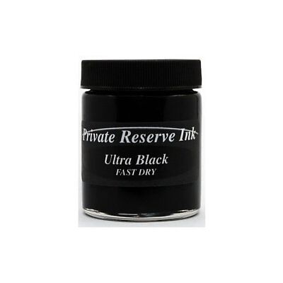 Private Reserve Ink 66ml Bottle Fountain Pen Ink - Fast Dry Ink - Ultra Blac ...