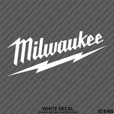 Milwaukee Tools Toolbox Truck SUV Vinyl Decal Sticker - Choose (Suv Tool Boxes)
