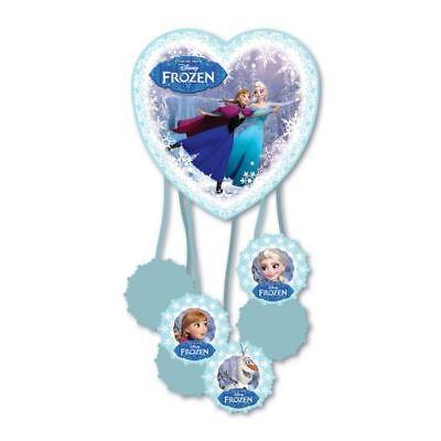 Disney's Frozen Elsa Anna Skating Children's Party Pull Pinata Game