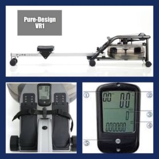 ROWING MACHINE  Pure Design VR1 by Water Rower  - made in USA