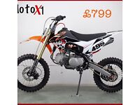 MotoX1 yx-160 160cc stomp YX DIRTBIKE PITBIKE Limited Edition