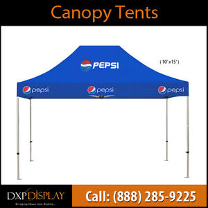 Broadcast Your Message Anywhere with Custom Canopy Tent