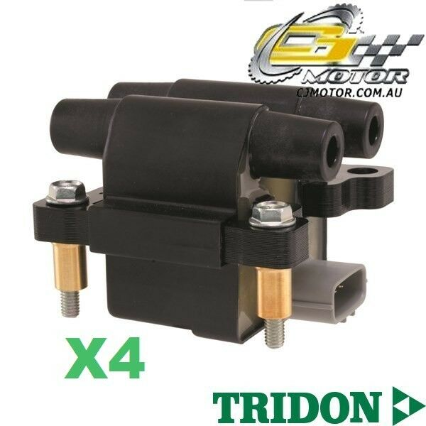 TRIDON IGNITION COIL x4 FOR Subaru Forester 03/08-06/10, 4, 2.5L EJ25