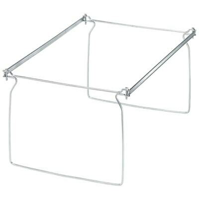 Office Depot Brand Metal File Frames Legal Size Silver Box Of 2