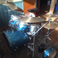 Pacific LX Maple 7 piece drum kit