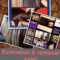 SALE extentions-removal-re tapping