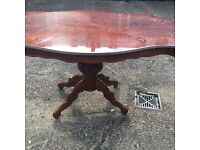 LOUIS STYLE TABLE FREE DELIVERY INLAID MODEL SOLID WOOD