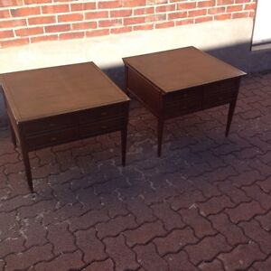 Two units Mid century nightstands