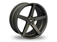 "19"" Staggered Gunmetal AVA Miami & tyres for E90, E91, E92, E93 BMW 3 Series, Vauxhall Insignia ETC"