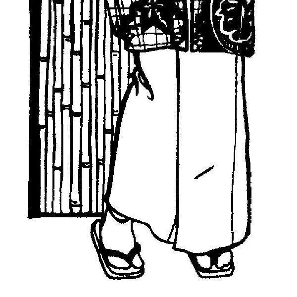 Folkwear Japanese Tabi #129A Sewing Pattern Slipper Socks