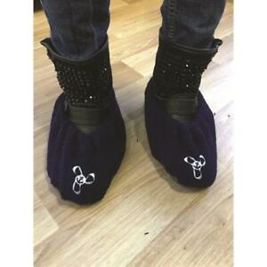 Shoe Covers Large Navy