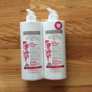 Shampo & Conditioner Orgnx Rose Shea Butter